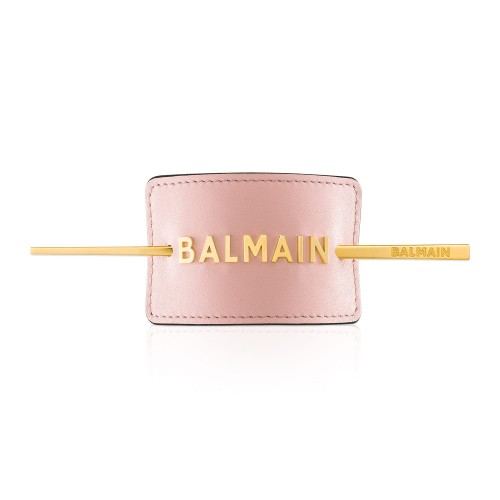 BalmainHair_Accessories_HairBarrette_LimitedEdition_SpringSummer20_PastelPink_GoldLogo_LR.jpg